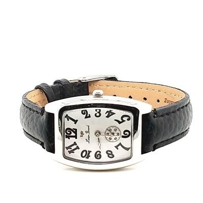 Louise Picard Unisex Black Strap Watch