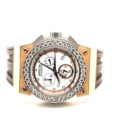 Invicta Unisex Watch with Diamonds