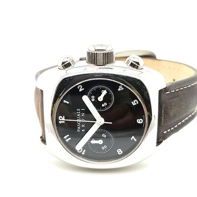 Pasquale Bruni Brown Strap Leather Watch