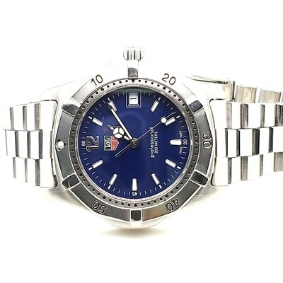 Tag Heuer Professional Blue Dial  Watch