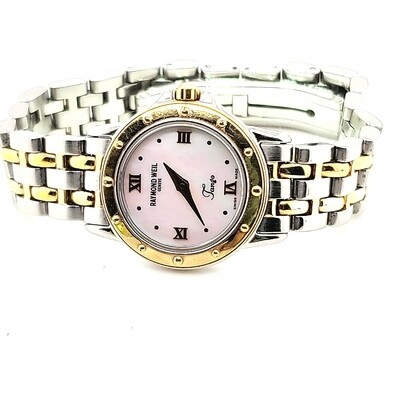 Raymond Weil Tango Two Tone Mother of Pearl Watch