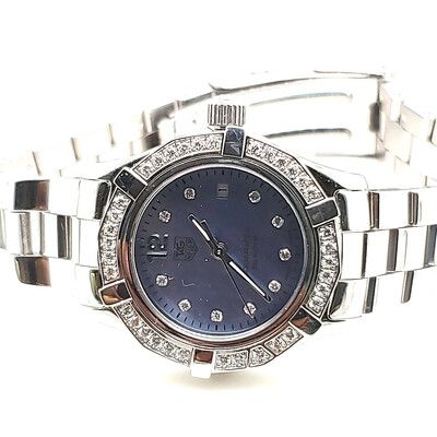 Tag Heuer Aquaracer Blue Dial Steel Watch