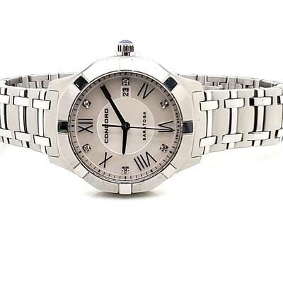 Concord Steel Saratoga Watch