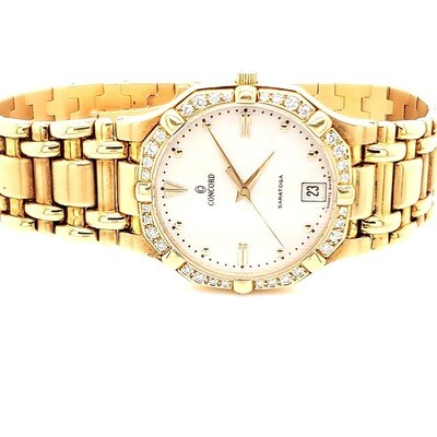 Concord Gold Saratoga Watch