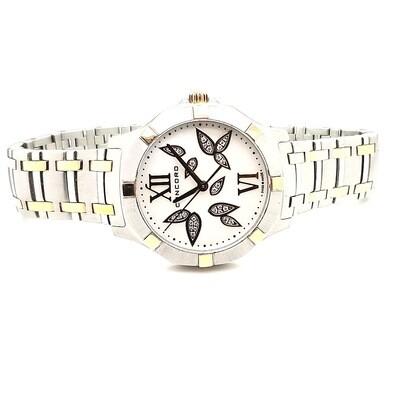 Concord Steel & Rose Saratoga Watch