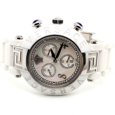 Versace Reve White Ceramic Watch