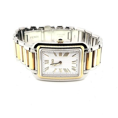 Fendi Two Tone Watch