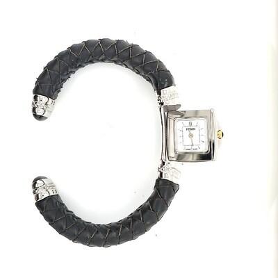 Fendi Black Cuff Watch
