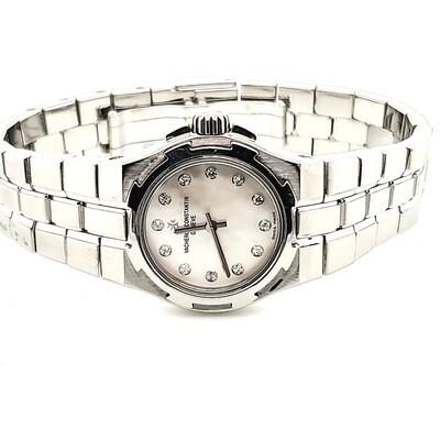 Vancheron Constantin Steel Watch