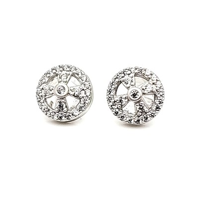 Freida Rothman Stud Earrings