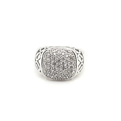 Ladies Pave Diamond Ring