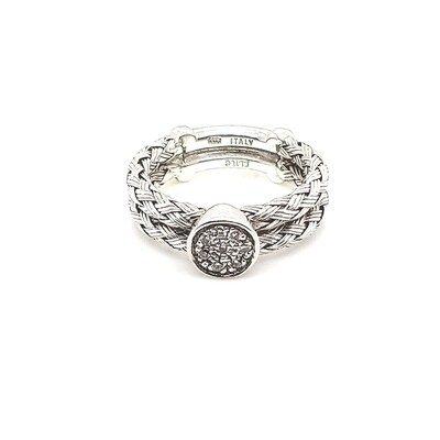 Ladies Baguette and Diamond Band