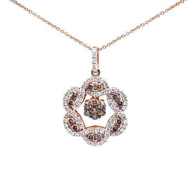 Brown Diamond Pendant & Ring Set