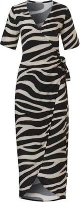 20221   WOW!   Dress Zebraprint