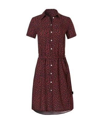 20283   WOW!   Shirt Dress Leopardprint