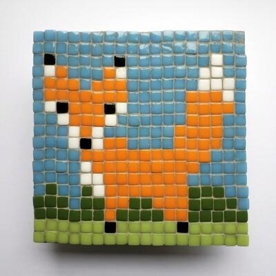 Fox (Mini Pixel Mosaic kit)