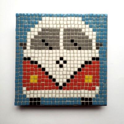 Camper-van (Medium Pixel Mosaic Kit)