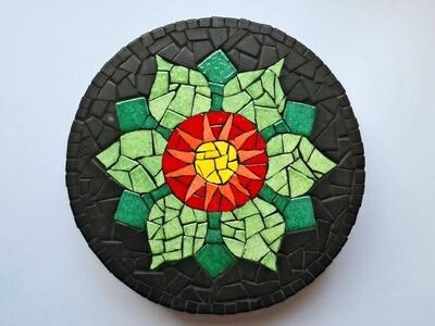 Mandala Mosaic kit (requires nipper - sold separately)