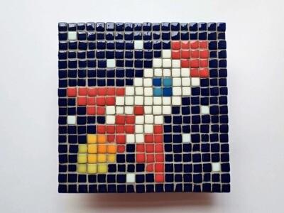 Rocket (Mini Pixel Mosaic kit)