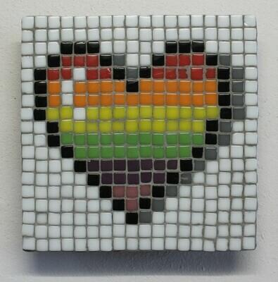 Heart (Mini Pixel Mosaic kit)