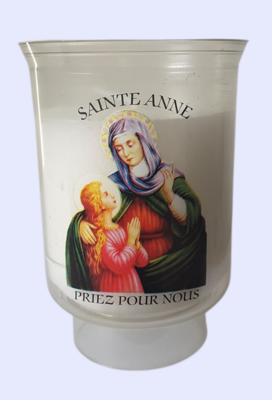 """Veilleuse """" Sainte Anne priez pour nous """""""