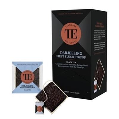 TEAHOUSE Exclusives Luxury Bag - Darjeeling,  First Flush (15x3,5g oder 250g)