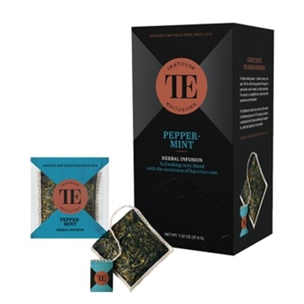 TEAHOUSE Exclusives Luxury Bag - Peppermint (15x2,5g oder 100g)