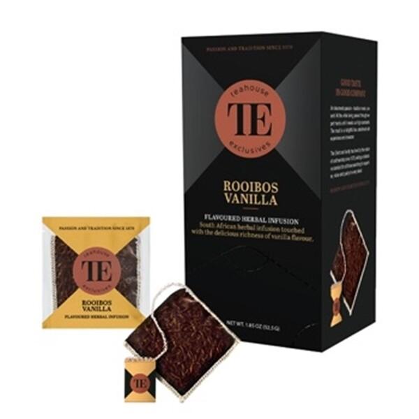 TEAHOUSE Exclusives Luxury Bag - Roiboos Vanilla (15x3,5g oder 250g)