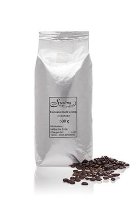 Sterling Coffee Exclusive Café Crème, ganze Bohne
