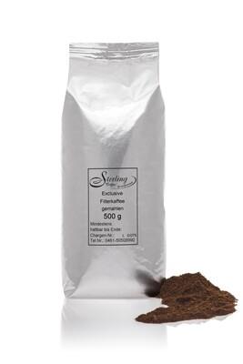 Sterling Coffee Exclusive Filterkaffee, gemahlen, 500g