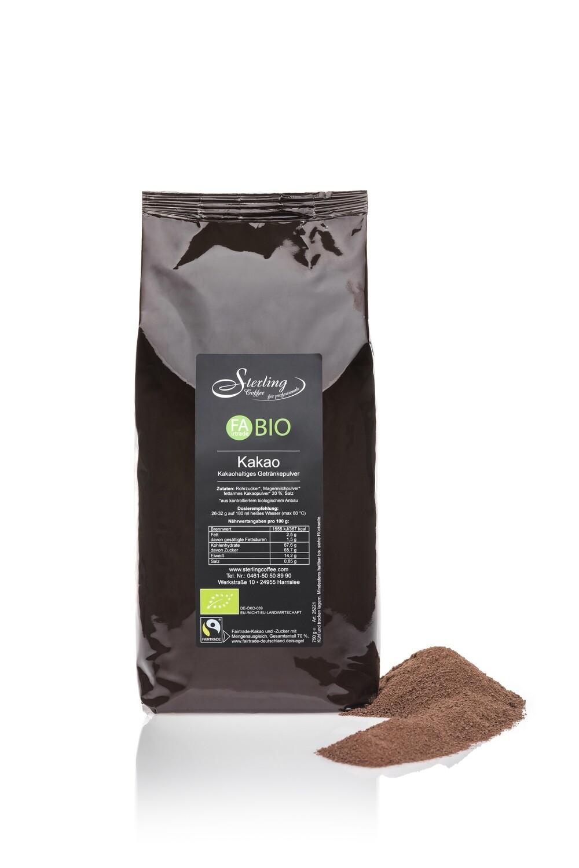 Sterling Coffee FaBio FAirtrade BIO KAKAO (20%)