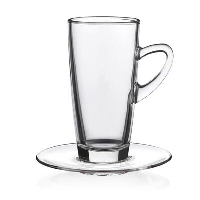 Teeglas, klar 32cl inkl. U-Tasse, 6 Stück