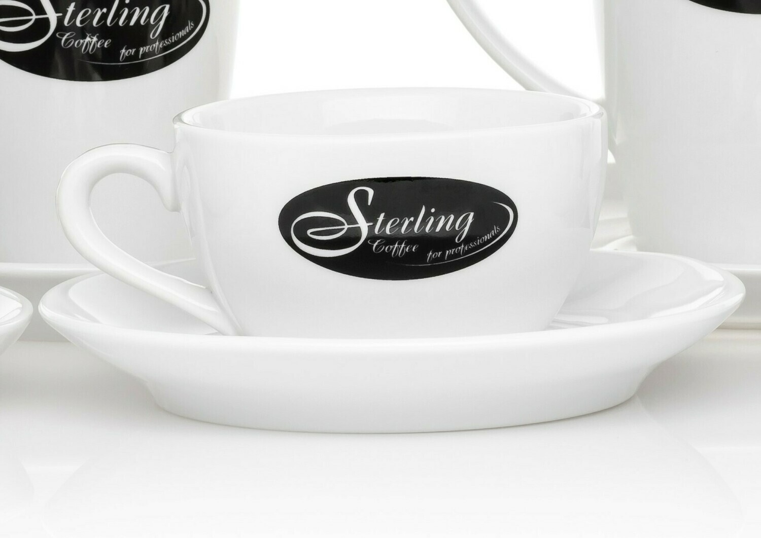 Sterling Coffee Cappuccino-Set 180ml (6 Sets)