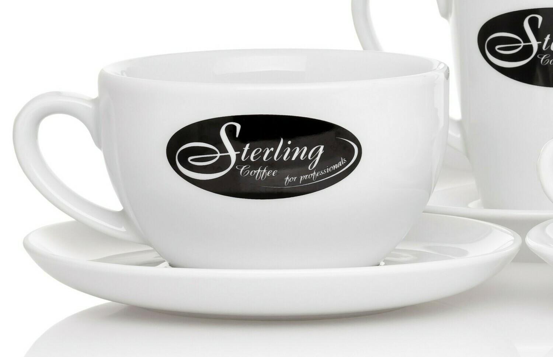 Sterling Coffee Café au lait-Set 320ml (6 Sets)