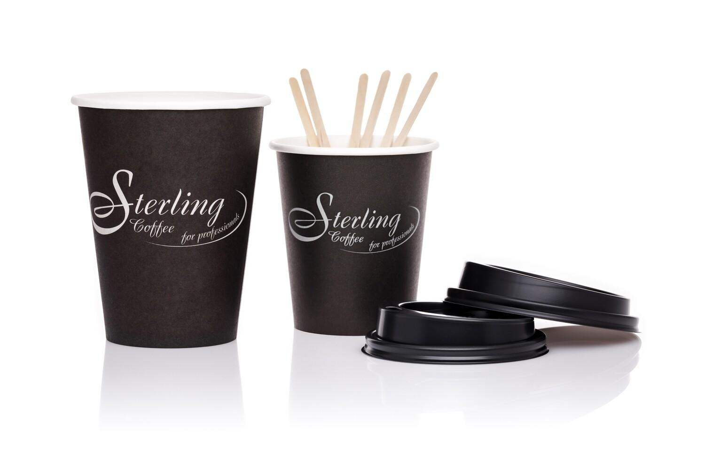 Sterling Coffee ToGo-Becher 200ml/8oz, 50 Stück