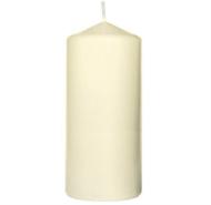 DUNI Stumpenkerze 13x6cm, cream, 10 Stück