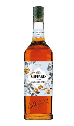 GIFFARD Sirup Salziges Karamell, 1.000ml