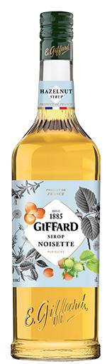 GIFFARD Sirup Haselnuss, 1.000ml