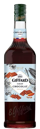 GIFFARD Sirup Schokolade (braun), 1.000ml