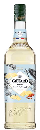 GIFFARD Sirup Schokolade (weiß), 1.000ml