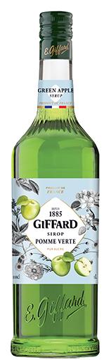 GIFFARD Sirup Grüner Apfel, 1.000ml