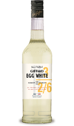 GIFFARD Sirup Egg White, 700ml