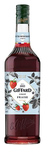 GIFFARD Sirup Erdbeer, 1.000ml