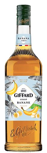 GIFFARD Sirup Banane, 1.000ml
