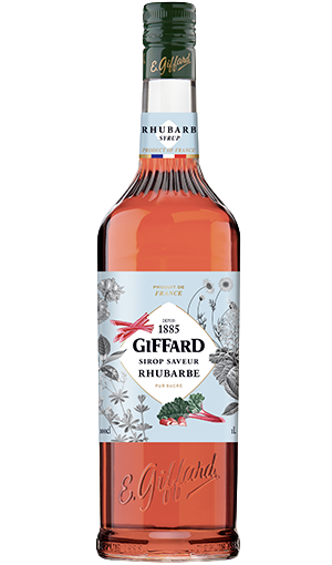 GIFFARD Sirup Rhabarber, 1.000ml