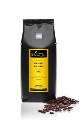 Sterling Coffee Espresso Viktoria, ganze Bohne, 500g