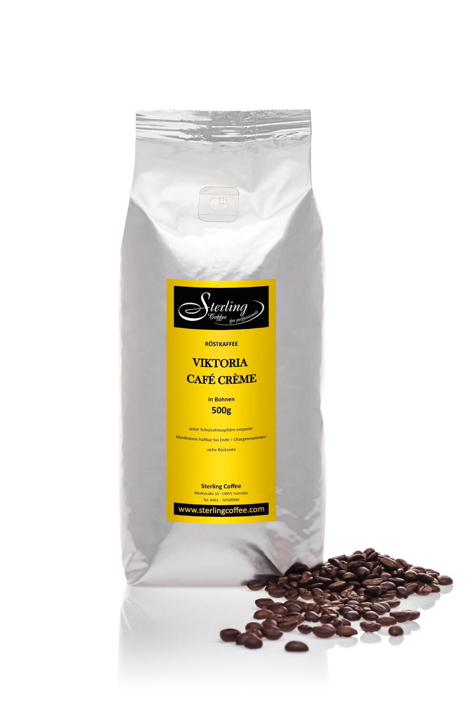 Sterling Coffee Café Crème Viktoria, ganze Bohne, 500g