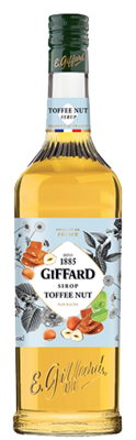 GIFFARD Sirup Toffee Nut, 1.000ml