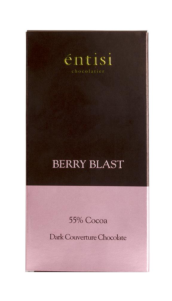 Berry Blast Dark Chocolate Bar