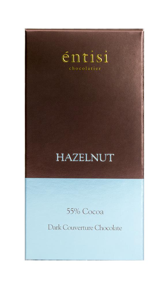 Hazelnut Dark Chocolate Bar